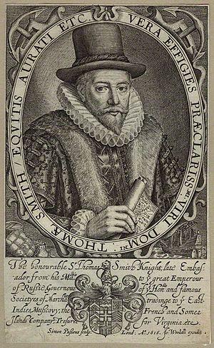 Thomas Smythe - Image: Sir Thomas Smythe