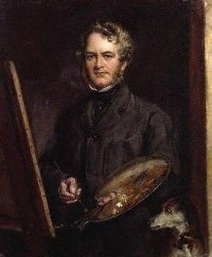 Edwin Landseer - Edwin Henry Landseer self-portrait