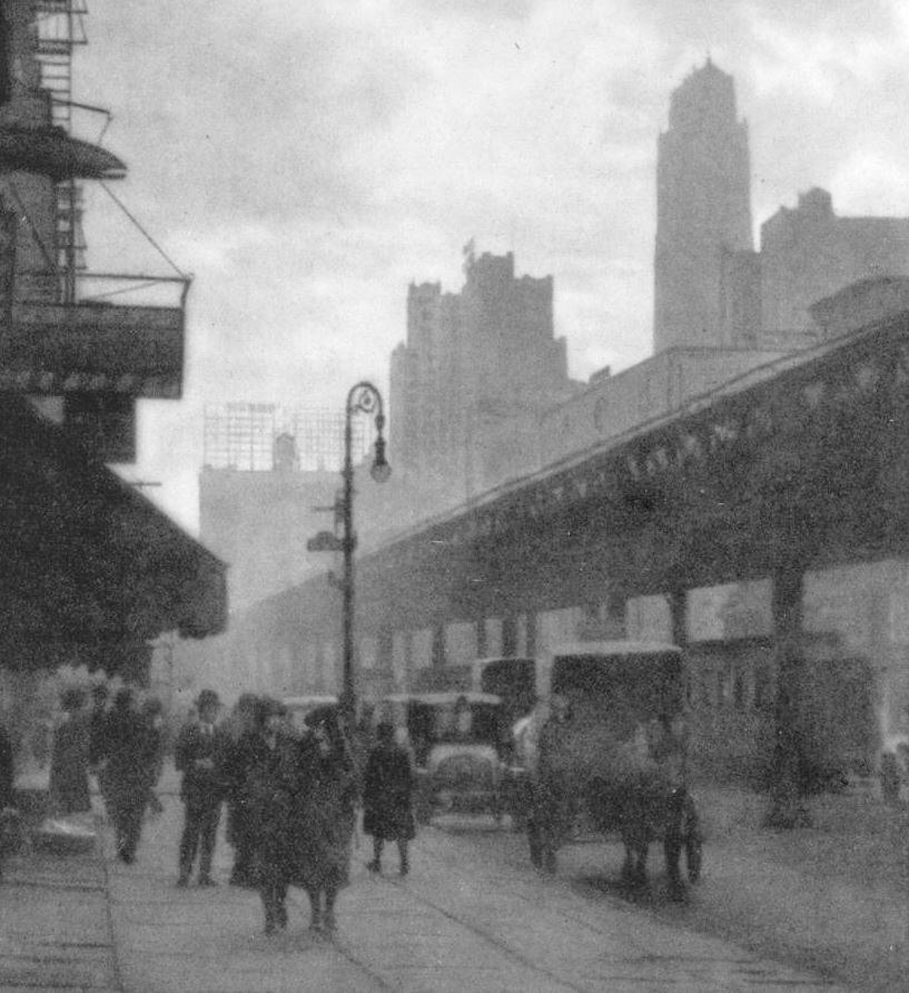 Sixth Avenue 1922 crop