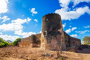 Pate Island - Siyu Fort on Pate island