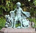Skulptur Wolliner Str 31 (Gesbr) Vier Evangelisten&Georg Wrba&1906 2.jpg