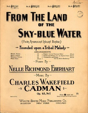1909 in music - Image: Sky Blue Water 1909