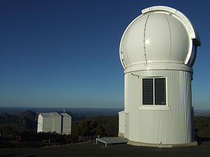 Siding Spring Observatory - Image: Sky Mapper and 2.3m