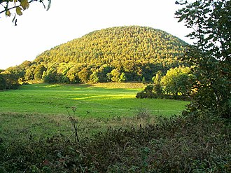 Godred Crovan - Sky Hill, where Godred is said to have vanquished the Manx once and for all. According to the chronicle, some of his troops hid in the wood surrounding the hill, and his victory was achieved when they ambushed the unsuspecting Manx from the rear.