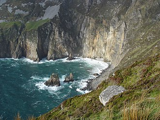 Slieve League - Image: Slieve League eastern end County Donegal