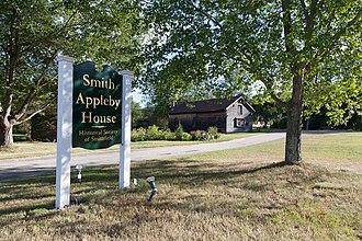 Smith–Appleby House - Image: Smith Appleby House sign 2013