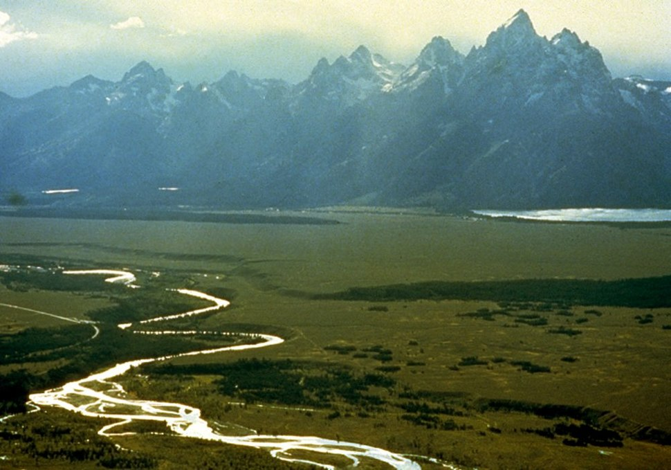Snake River with Teton Range in background
