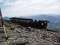 Snowdon Mountain Railway Near Summit - geograph.org.uk - 46153.jpg