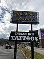 Soco Diner Sign, Cherokee, NC (46589436702).jpg