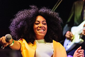 Solange Knowles - Solange performing at the Coachella Festival in April 2014
