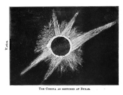 Solar eclipse 1898Jan22-Corona at Buxar.png