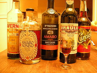 Amaro (liqueur) - Several bottles of amaro.