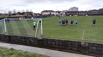 Cambuslang Rangers F.C. - During a match against Wishaw, 2017