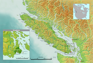 Songhees First Nation living in Victoria area, British Columbia