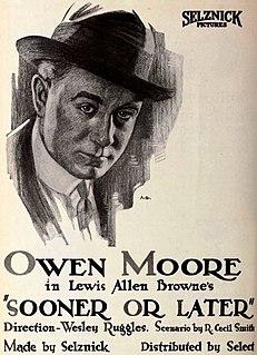 <i>Sooner or Later</i> (1920 film) 1920 silent film