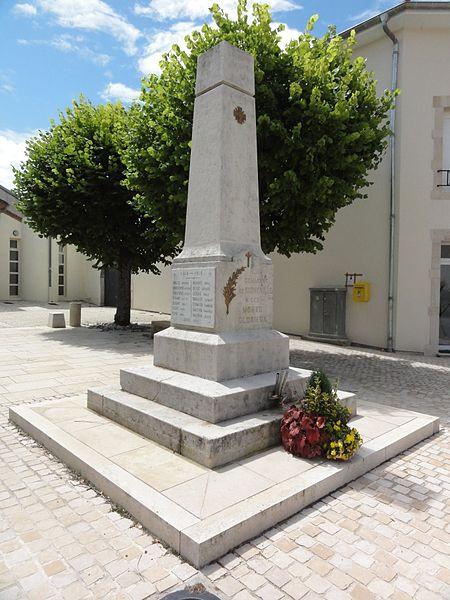 Sornéville (M-et-M) monument aux morts