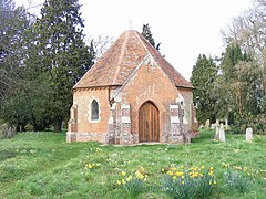 Sotterley cemetery chapel