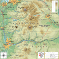 South Washington Cascade Range topographic map-fr.svg