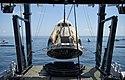 Bergung der Crew-Dragon-Kapsel nach der erfolgreichen Wasserung