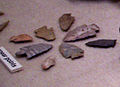 Spear points Nodena site HRoe 01.jpg