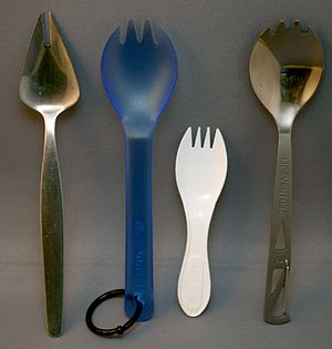 Spork - Four types of sporks
