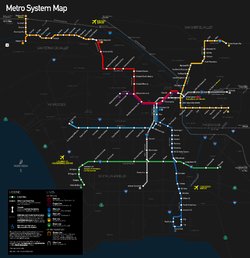 System Map as of Spring 2012.