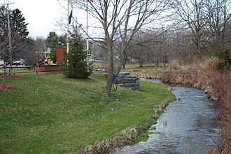 Union Vale, New York - Sprout Creek in Verbank
