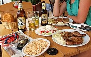 Serbian cuisine.