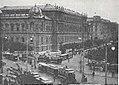 Städtische Straßenbahnen Wien 1903–1913 (page 122 crop) – Verkehr auf dem Maximilianplatz (Schottentor).jpg