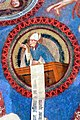 St.Jakob Kastelaz - Deckenfresko 5b Kirchenvater.jpg