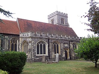 Grade I and II* listed buildings in the London Borough of Hillingdon - Image: St.Martins Church, Ruislip geograph.org.uk 306559