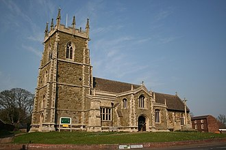 Alford, Lincolnshire - St Wilfrid's church