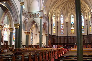 Roman Catholic Diocese of Victoria in Canada - Inside St. Andrew's Cathedral