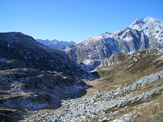 20 Frith Street - St. Gotthard landscape