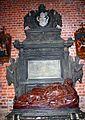 St. John Cathedral Church in Wroclaw Marek i Ewa Wojciechowscy 2005 bishop Adam Weisskopf tomb P01.jpg