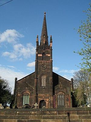 English: St. John the Evangelist, Church of En...