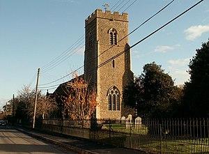 Tattingstone - Image: St. Mary's; the parish church of Tattingstone geograph.org.uk 619479