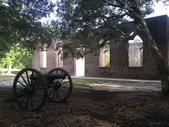Brunswick Town, North Carolina - St. Philip's Church Ruins