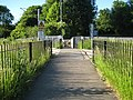 St Albans, Cottonmill Lane pedestrian railway crossing - geograph.org.uk - 1329691.jpg