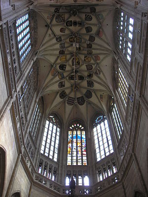 Matěj Rejsek - The presbytery of St. Barbara's Church in Kutná Hora from 1499.