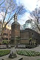 St Botolph's, Aldersgate as seen from Postman's Park.jpg