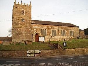 Ollerton - Image: St Giles Church Ollerton Village geograph.org.uk 113173
