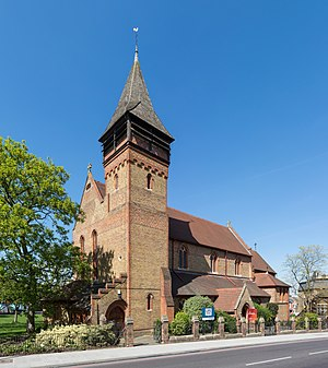 William White (architect) - St Marks, Battersea Rise