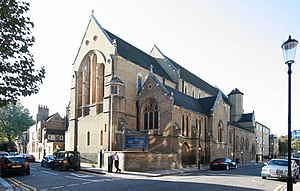 St Mary's, Cadogan Street - Image: St Mary's, Cadogan Street exterior