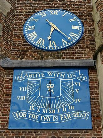 Thwaites & Reed - Image: St Mary's Church, Barnes 14