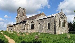 St Marys Church, East Ruston Church in Norfolk, England