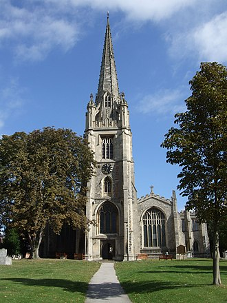 Saffron Walden - Image: St Marys Church, Saffron Walden
