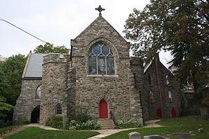 St. Paul's Episcopal Church (Elkins Park, Pennsylvania) - Image: St Paul Episcopal Church, Elkins Park PA 05