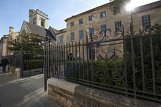 St Peters College, Oxford college of the University of Oxford