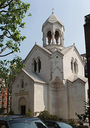 Arthur Joseph Davis - St Sarkis Armenian Church, London